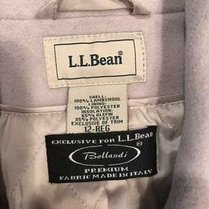 L.L. Bean Jackets & Coats - LLBean Wool Peacoat